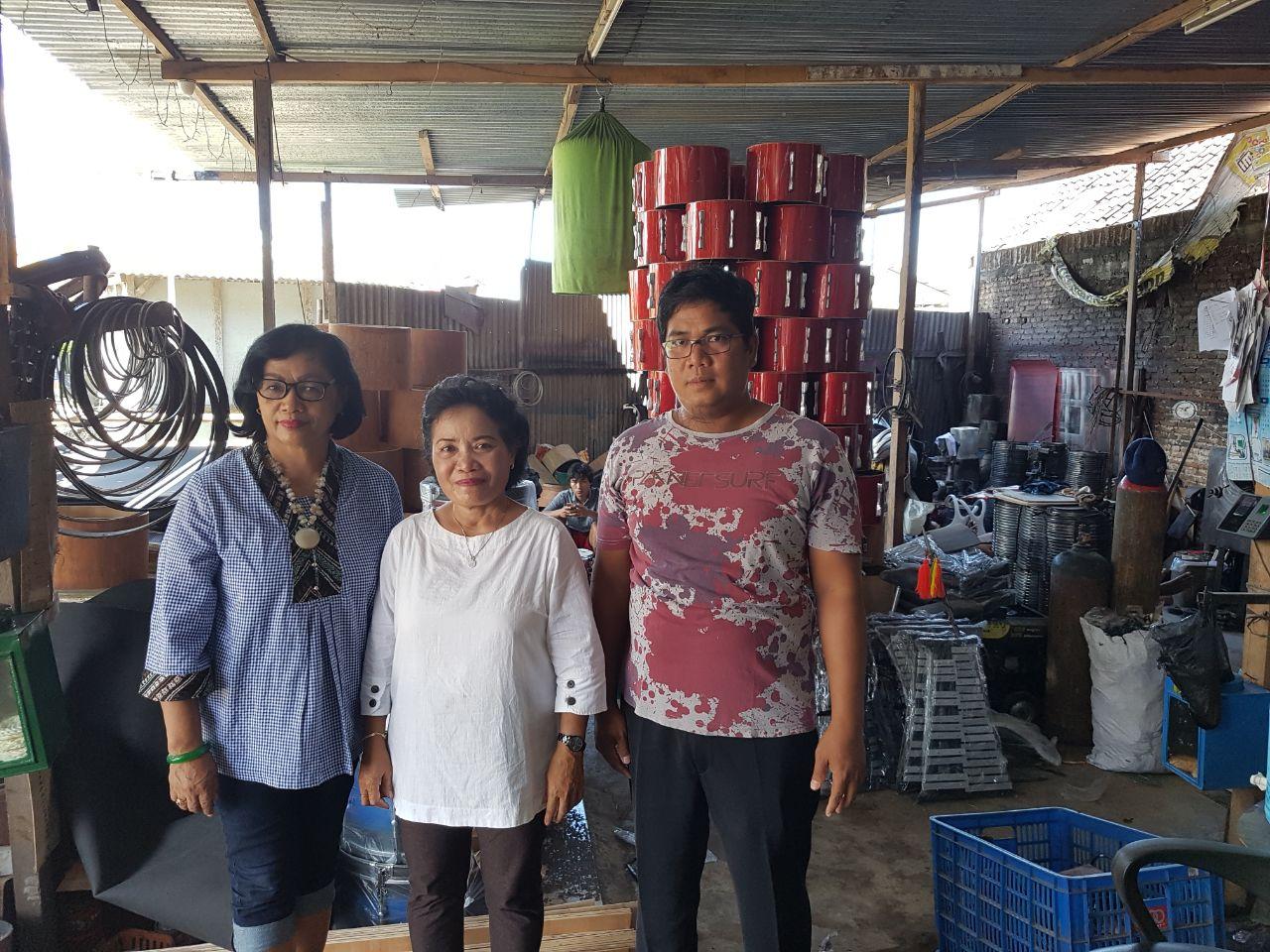 Kunjungan SMP YKST, Poso, Sulawesi Tengah